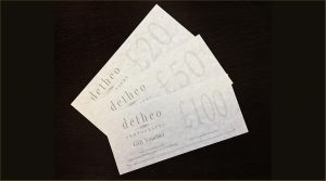 Gift Vouchers from Detheo Photography