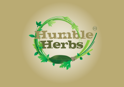 Humble Herbs Logo, Commercial Photographer, Detheo Photography, Essex, Hertfordshire