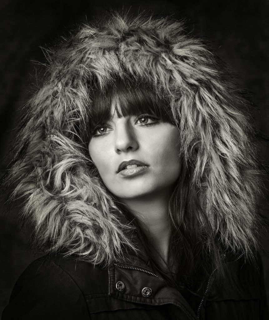Award Winning Black & White Portrait by Detheo Photography